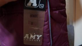 Foto 2 #Anorak, Gr. #140, #aubergine, #Amy, #neu
