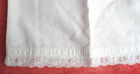Foto 3 Antike Damen Unterwäsche 2 tlg. Hemd + Hose