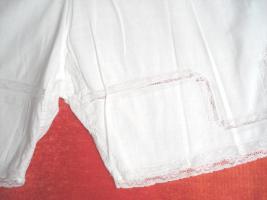 Foto 7 Antike Damen Unterwäsche 2 tlg. Hemd + Hose