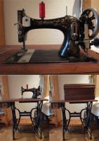 Antike Nähmaschine von Wertheim