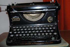 Foto 2 Antike Schreibmaschine - Naumann Ideal (ca. 1930)