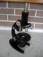 Antikes Mikroskop von Carl Zeiss Jena mit viel Zubehör