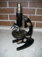 Foto 2 Antikes Mikroskop von Carl Zeiss Jena mit viel Zubehör