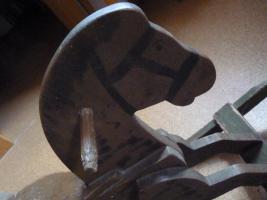 Foto 2 Antikes Schaukelpferd