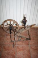 Foto 4 Antikes Spinnrad