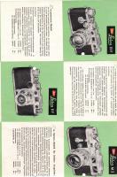 Antiquarische Werbeschrift ''LEICA - Fototechnik'' aus dem Jahre 1954 (mit Preisen)