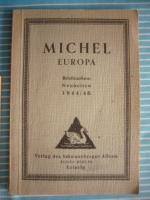 Antiquarischer Michel - Briefmarkenkatalog für Europa / Briefmarkenneuheiten 1944 – 1946