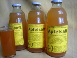 Foto 4 Apfelssaft naturtrüb von Streuobstwiesen aus dem Naturpark Hoher Fläming
