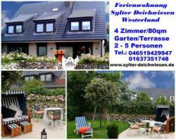 Kontakt zum Appartement Westerland- Sylter Deichwiesen