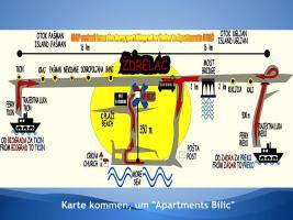 Karte Erreichen Apartments Bilic