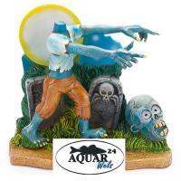Aquarium Dekoration Glows in the Dark Zombie Headless