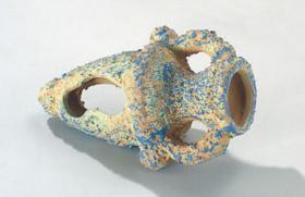 Aquarium Dekoration Keramik Pflanzenamphore 16cm