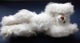 Foto 7 Ashton-Drake-Gallery Teddy #917 Weiss 30 cm 5-fach Scheiben Handmade
