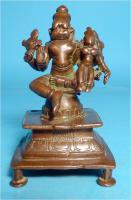 Asiatica, Lakshmi-Narasimha, Skulptur, Indien, Bronzeguss, Shakti Mahalakshmi, Asien, Schutzgottheit
