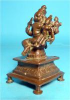 Foto 2 Asiatica, Lakshmi-Narasimha, Skulptur, Indien, Bronzeguss, Shakti Mahalakshmi, Asien, Schutzgottheit