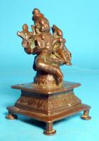 Foto 4 Asiatica, Lakshmi-Narasimha, Skulptur, Indien, Bronzeguss, Shakti Mahalakshmi, Asien, Schutzgottheit