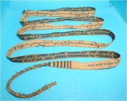 Foto 16 Asiatica, Tibet, Handschrift, Indien,