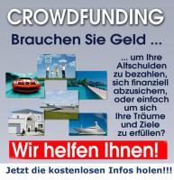 Auch Dir kann Crowdfunding helfen