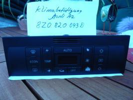 Audi A2 8Z Klimatronik Bedienteil 8Z0820043D