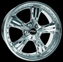 Audi S3 + TT  ASA AR4 galvanisch verchromt VA 8 ,0 x 18 HA 9,0 x 18