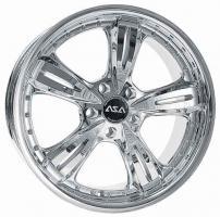 Foto 2 Audi S3 + TT  ASA AR4 galvanisch verchromt VA 8 ,0 x 18 HA 9,0 x 18