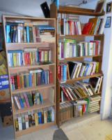 Auflösung eines Buchlagers mit 30.000 Deutschen Büchern