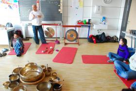 Foto 7 Ausbildung, Klangtherapie, Klangmassage, Seminare Gong,