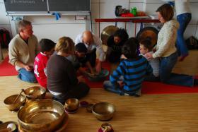 Foto 8 Ausbildung, Klangtherapie, Klangmassage, Seminare Gong,