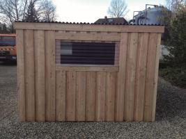 Foto 6 Außenboxen -Hütten massiv auch mit Heu- und Sattelkammer