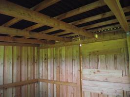 Foto 18 Außenboxen -Hütten massiv auch mit Heu- und Sattelkammer