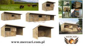Außenboxen, Pferdeboxen, Paddock, Innenboxen, Stalltüren und Tore Weidehütte
