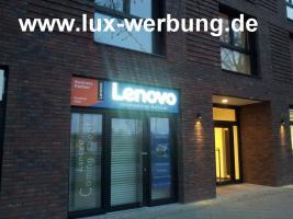 Foto 18 Außenwerbung Leuchtwerbung Lichtreklame Beleuchtete Einzelbuchstabe 3D LED Leuchtbuchstaben Leuchtkästen
