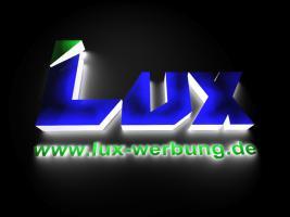 Foto 37 Außenwerbung Leuchtwerbung Lichtreklame Beleuchtete Einzelbuchstabe 3D LED Leuchtbuchstaben Leuchtkästen