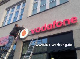 Foto 34 Außenwerbung Werbeschilder Leuchtschilder Leuchtkästen Leuchtbuchstaben Leuchtwerbung Leuchtreklame Profilbuchstaben Schriftzüge Berlin