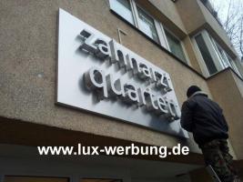 Foto 41 Außenwerbung Werbeschilder Leuchtschilder Leuchtkästen Leuchtbuchstaben Leuchtwerbung Leuchtreklame Profilbuchstaben Schriftzüge Berlin