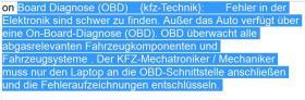Auto-Lexikon: Glossar-Begriffe Kraftfahrzeugmechatroniker / kfz-Mechaniker / Elektroniker /Automobiltechnik (Grundlagen Einstieg Einfuehrung)