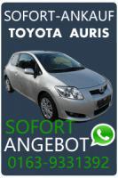 Auto verkaufen Toyota Auris