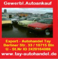 Autoankauf Berlin Tay Autohandel Charlottenburg - Wilmersdorf