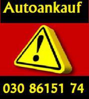 Autoankauf Berlin  Spandau / Treptow / Köpenick  / Wilmersdorf / Schönefelt /  Brelin - Bundesweit Tel:030 861 51 74