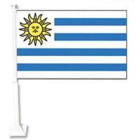 Autofahne Uruguay