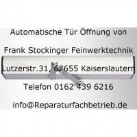 Automatische Tür und Tor Anlagen von Reparaturfachbetrieb.de