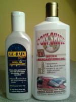 Autopolitur- Autopflege - Hochglanzversieglung - Lotus Effekt - Regenabweiser - Ohne Polieren