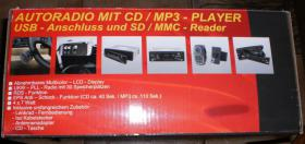 Foto 3 Autoradio mit CD / MP3 Player