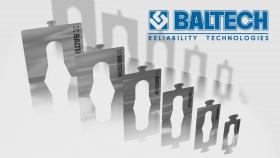 BALTECH-23458N-Metallplatten kalibriert