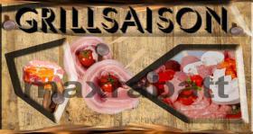 Foto 2 BBQ - Grillsaison Logo und Druckvorlage