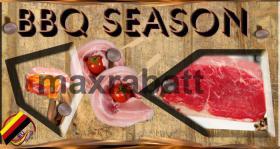 Foto 3 BBQ - Grillsaison Logo und Druckvorlage