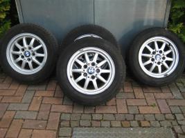 Foto 2 BMW Alufelgen 205/60 R15 91H M+S inkl. Reifen zu verkaufen