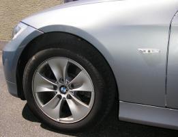 BMW Alufelgen 7x16 Zoll mit 205er Conti Reifen für 3er E90
