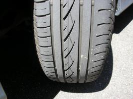 Foto 2 BMW Alufelgen 7x16 Zoll mit 205er Conti Reifen für 3er E90