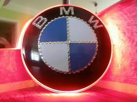 Foto 3 BMW EMBLEM Swarovski Desing veredelt(Handarbeit)mit LED